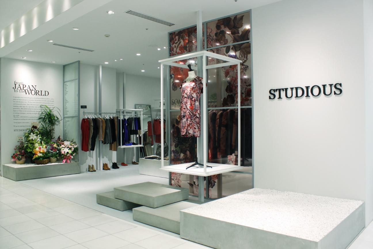 STUDIOUS WOMENS渋谷店 OPEN