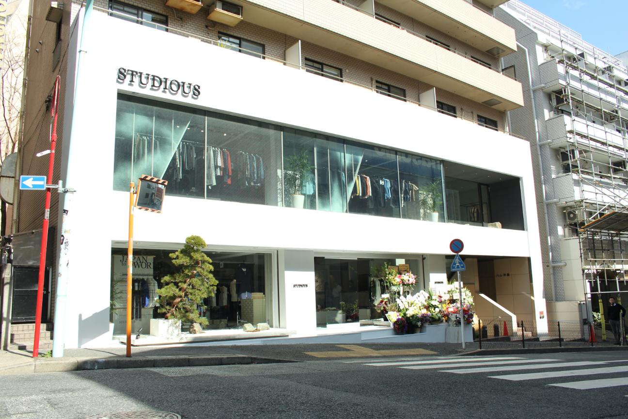 STUDIOUS TOKYO神南店 OPEN