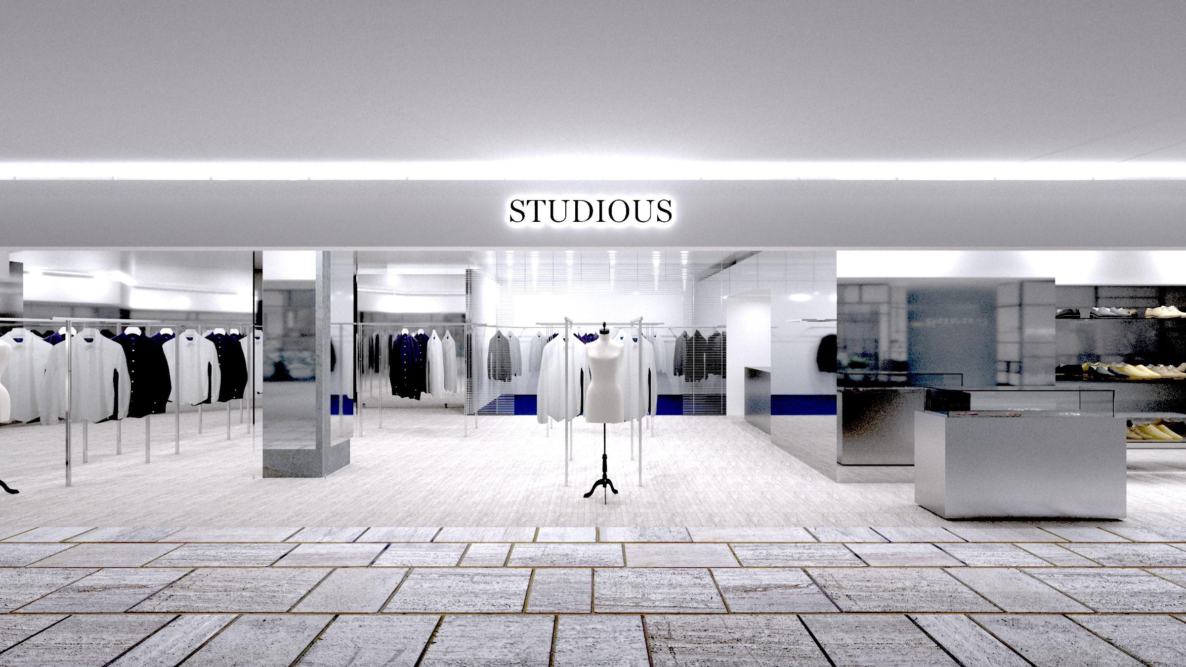 有楽町ルミネのSTUDIOUSが拡大。STUDIOUS有楽町複合店がWOMENSとMENS単独店となり2店舗OPEN。