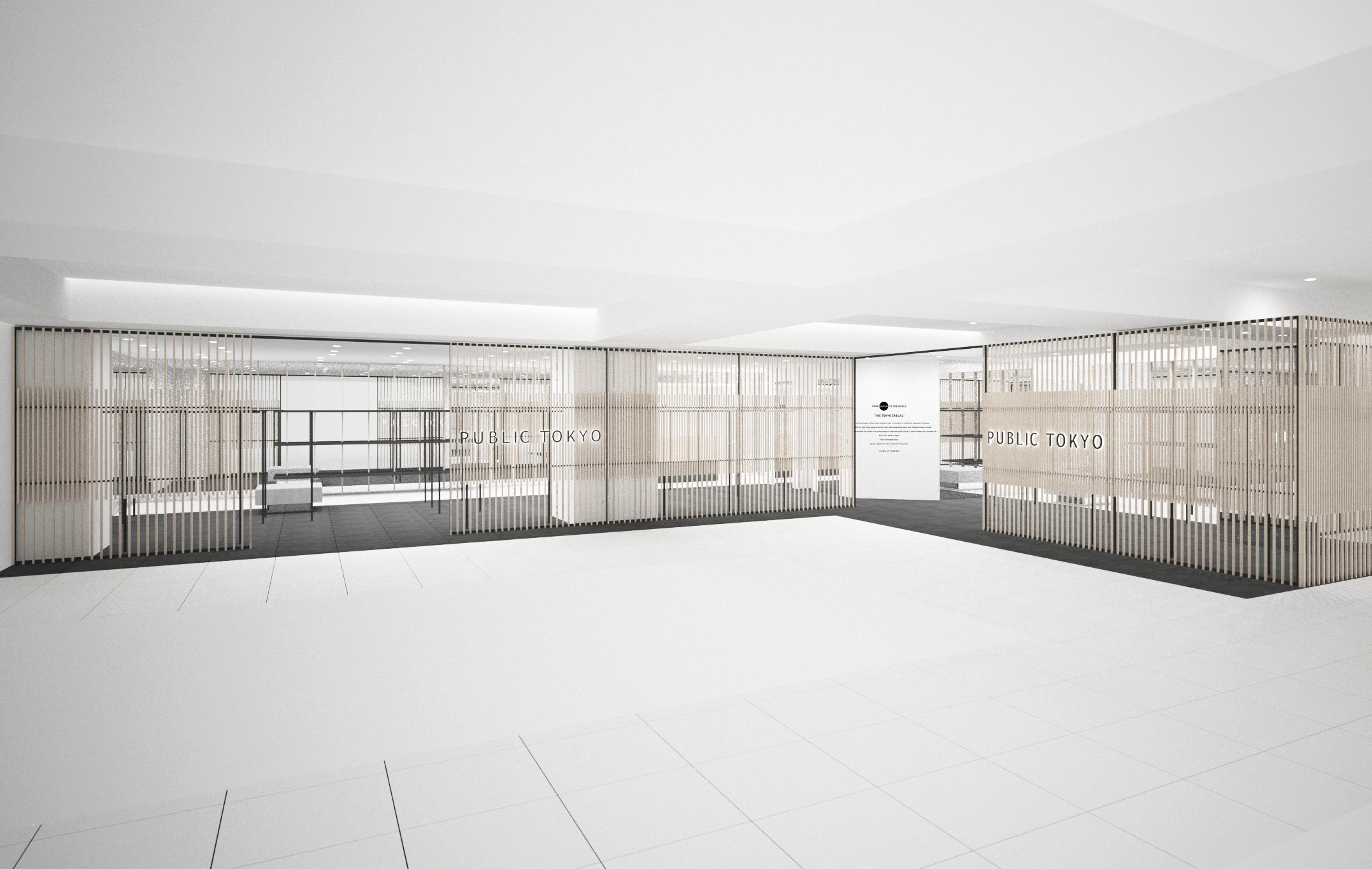 池袋PARCO本館2FにPUBLIC TOKYOがOPEN。